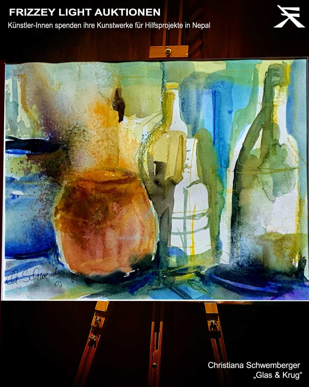 Glas & Krug von Christiana Schwemberger